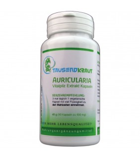 Auricularia Extrakt (90 Kapseln)