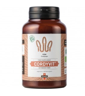 Goba BIO CordyVit® Cordyceps Pulver (100g)