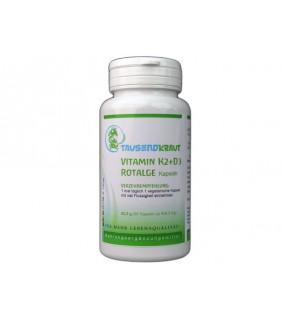 Vitamin K2 + D3 + Rotalge (90 Kapseln)