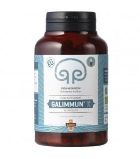 Goba BIO Galimmun® K - Reishi Pulver (140 Kapseln)