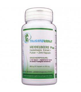 Heidelbeere PLUS (90 Kapseln)