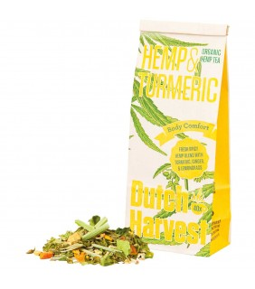 Dutch Harvest BIO Hanf Tee - Hemp & Turmeric (40g)