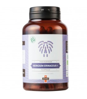 Goba BIO Hericium Erinaceus K - Pulver (140 Kapseln)