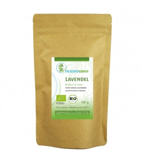 Bio Lavendelblüten (100g)